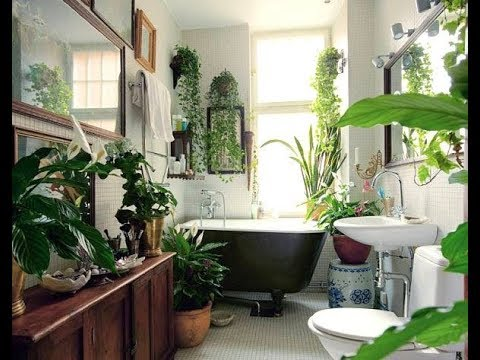 20+ Bohemian BATHROOM design ideas p1 - YouTube