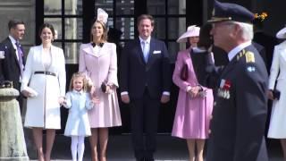 Så firar kungafamiljen nationaldagen