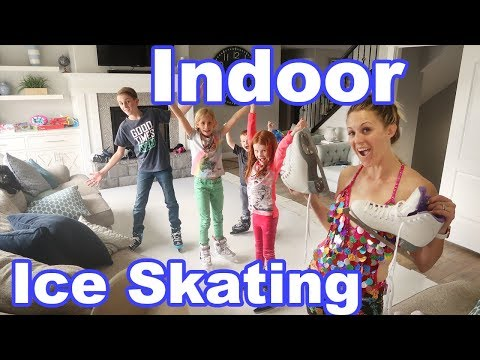 INDOOR ICE SKATING RINK!!!!