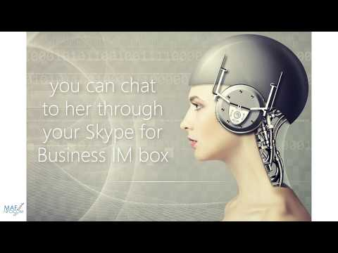 Skype For Business AI Reporting Bot