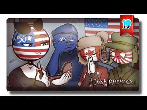 || 2 minutes of Female America ( Country Humans ) Animatic