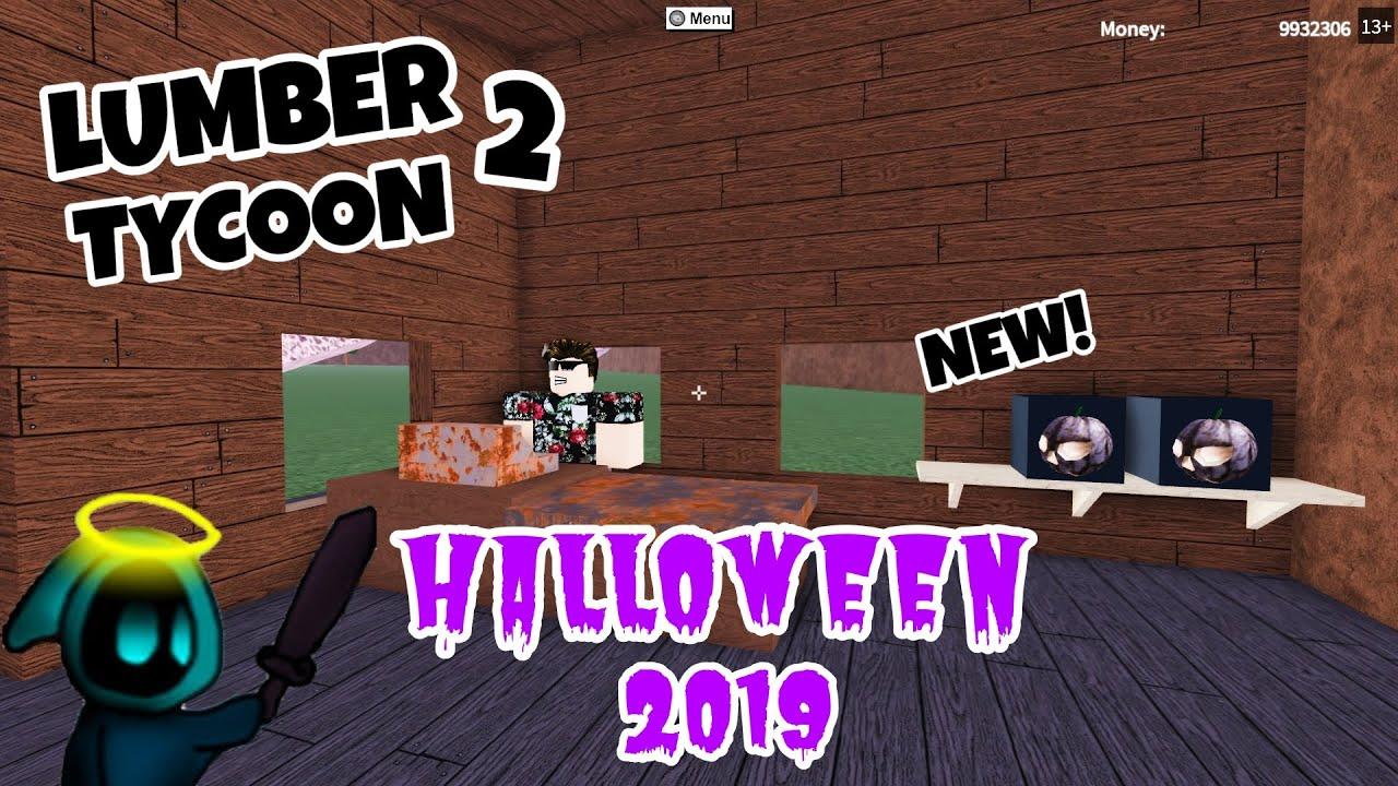 Lumber Tycoon Halloween 2020 Lumber Tycoon 2   HALLOWEEN UPDATE 2019   New Lumbkin!   YouTube