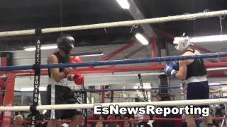 good fight at azteca boxing club EsNews Boxing