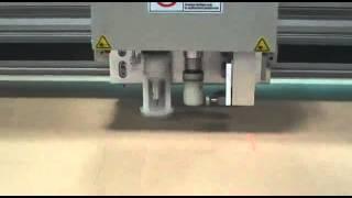 Aokecut@163.com Corrugated Flute Paper Board Sample Maker Flatbed Cutter Table