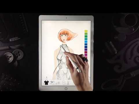 Fashion Design With Pret A Template Youtube