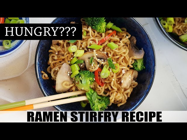 Ramen Stir Fry - 볶음라면