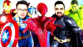 ÖRÜMCEK ÜMIDI ve SÜPER FATO vs Süper Kahramanlar