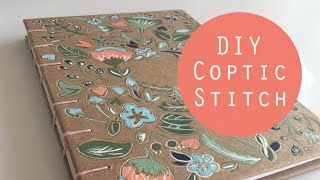 Coptic Stitch Journal Tutorial!
