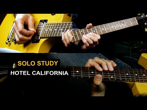How To Play Hotel California Guitar Solo - Eagles