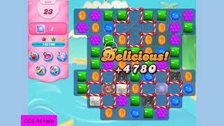 Candy Crush Saga Level 3394 30 moves