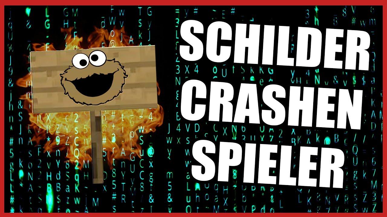 Minecraft Hacked Client Mit SCHILDERN Spieler Zum CRASH - Minecraft spieler finden hack
