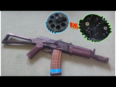 Airsoft Technics: Dual Sector Gear (DSG) vs. Single Sector Gear (SSG)