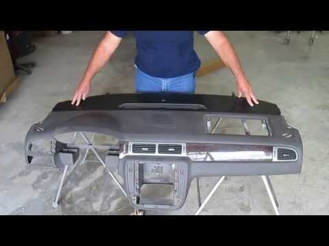 2007-2011 Tahoe Yukon Suburban Escalade Vent Section Dashboard Cap Installation Video