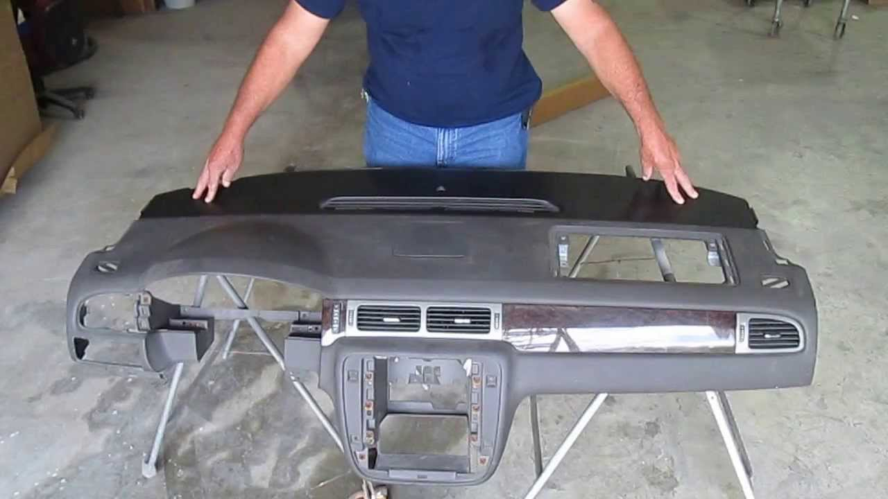 2007 2017 Tahoe Yukon Suburban Escalade Vent Section Dashboard Cap Installation Video You