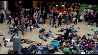 Bristol Cabot Circus 24/10/09 Flashmob