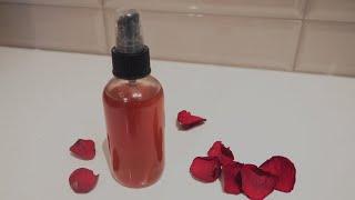 ROSE WATER FACIAL TONER  DIY Clean Beauty Recipe