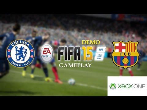 FIFA 15 Demo Gameplay: Chelsea vs. Barcelona (Penalty Shootout   XBOX One)