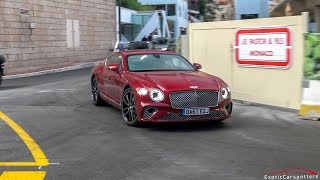 2018 Bentley Continental GT Driving in Monaco !