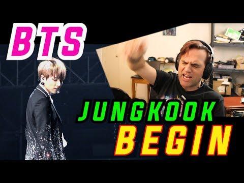 Ellis Reacts #621 // Guitarist's Reaction to BTS - BEGIN / JUNGKOOK Solo / 정국 직캠 / 방탄소년단 // BTS Live