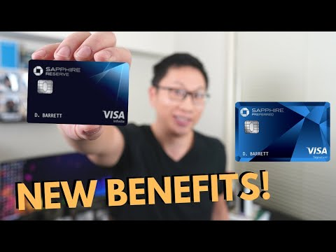 NEW Chase Sapphire Benefits: Flexible Credits and Cash Out Rates (Limited-Time) from YouTube · Duration:  6 minutes 55 seconds