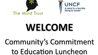 2014 The Mind Trust & UNCF Luncheon