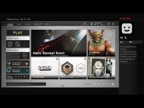 IConVergEI's Live PS4 Broadcast