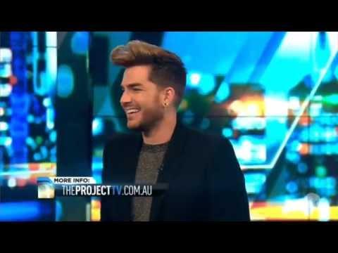 Adam Lambert Interview on 'The Project' - August 03, 2015