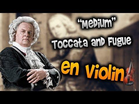 j.s bach - Toccata and Fugue en Violín|How to Play,Tutorial,Tab,sheet music,Como Tocar|Manukesman
