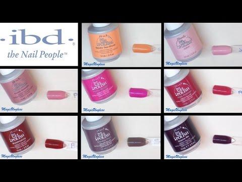 Colores semipermanentes Ibd  (Parte1) / Gel polish Ibd copilation (Part 1 )