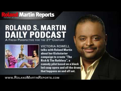 """It's 'Soap Dish' Meets The Office'""- VICTORIA ROWELL On 'The Rich & The Ruthless'"