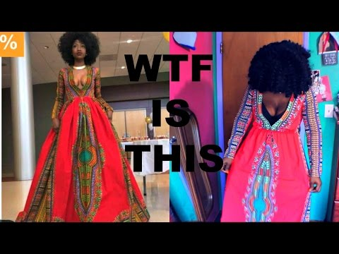 Wish African Clothing Haul 2017 .... WTF IS THIS? Mensahgurl