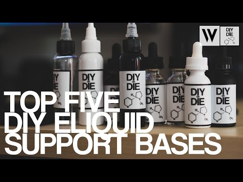 Top 5 DIY E-liquid Support Bases (Beginner DIY E-liquid Tips)