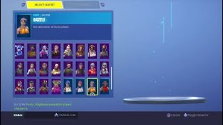 Fortnite stacked galaxy account for trade/sale