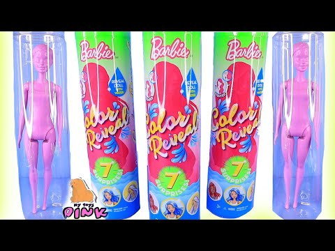 СЮРПРИЗ КУКЛЫ БАРБИ! 2 СЕРИЯ! Barbie Surprise Doll Color Reveal Series 2 Меняют Цвет + Пахнут