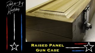 Raised Panel Gun Case
