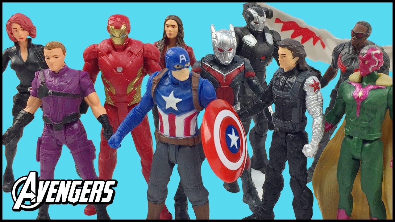 Marvel Super Heroes 60 Superhéroes: Avengers Superheroes Marvel Captain America Civil War