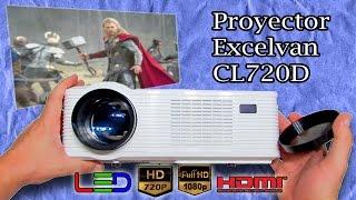 ✔ CALIDAD PRECIO Proyector Excelvan CL720D LED HD Review en Español