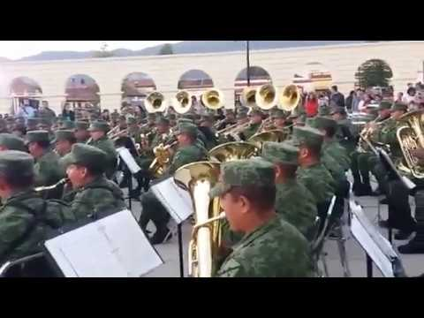 Concierto magno de Bandas de Música del Ejército y F.A.; San Cristóbal de las Casas, Chis.