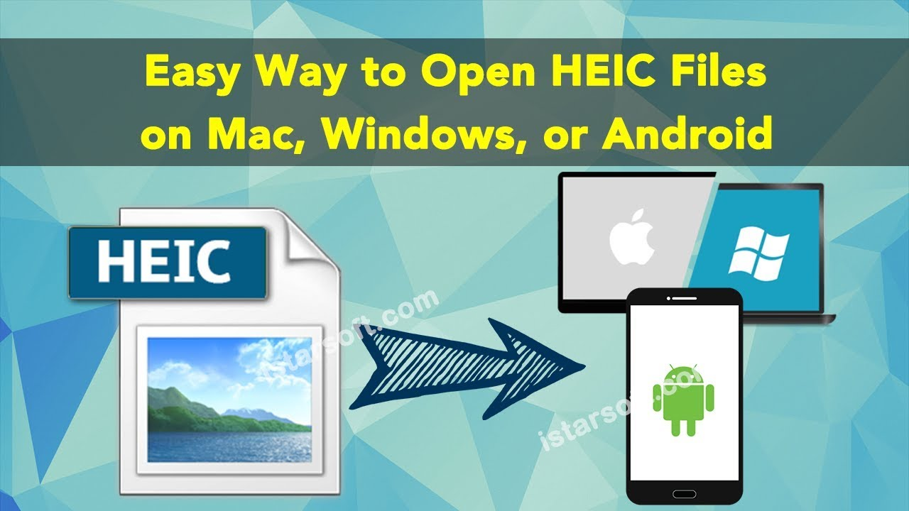 Easy Way To Open Heic Files On Mac  Windows  Or Android