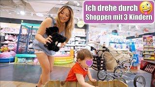 Mit 3 Kindern Shoppen 🤑 Justus Geburtstag fällt ins Wasser! Wasserbomben Schlacht | Mamiseelen