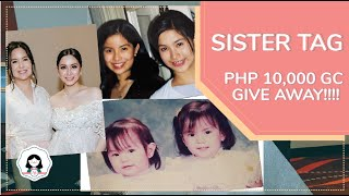 SISTER TAG + 10K GC GIVE AWAY!!! [Mariel Padilla Vlog]