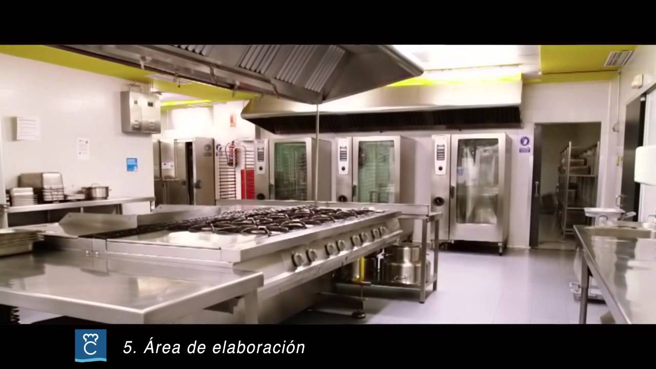 Instalaciones cocina Hospital Puerta de Hierro - YouTube