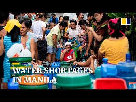 Philippines water shortages hit more than 6 million people
