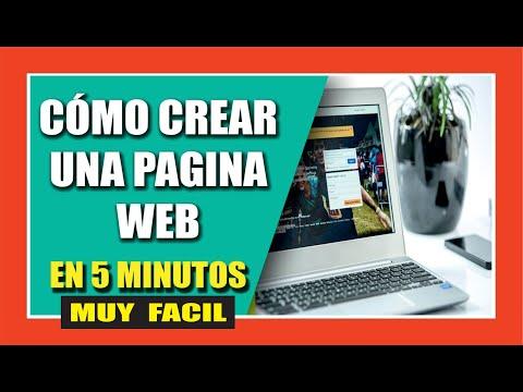 COMO CREAR UNA PAGINA WEB + DOMINIO GRATIS PARA SIEMPRE 2018