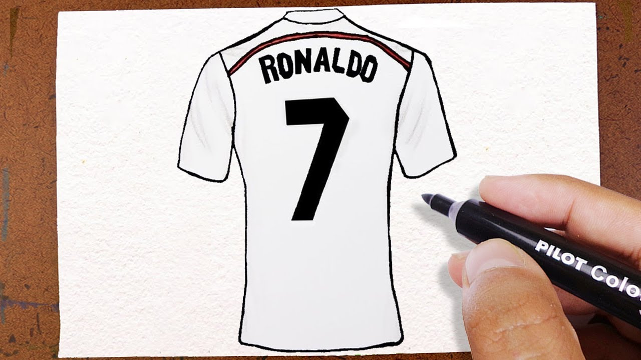Como Desenhar CAMISA 7 do CRISTIANO RONALDO CR7 Real Madrid - YouTube 13143c3f9ea2a