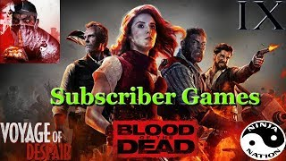 Black Ops 4 Zombies | Subscriber Games helping w/ Easter Eggs.