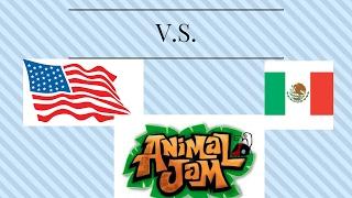 MEXICO VS. AMERICA ANIMAL JAM SKIT/ W ASPARKLES