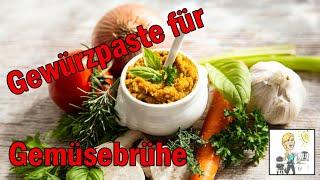 Gewürzpaste für Gemüsebrühe mit dem Thermomix