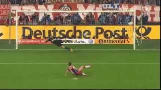 FC Bayern München vs. Borussia Dortmund Halb-Finale DFB-Pokal Elfmeterschießen 28.04.2015