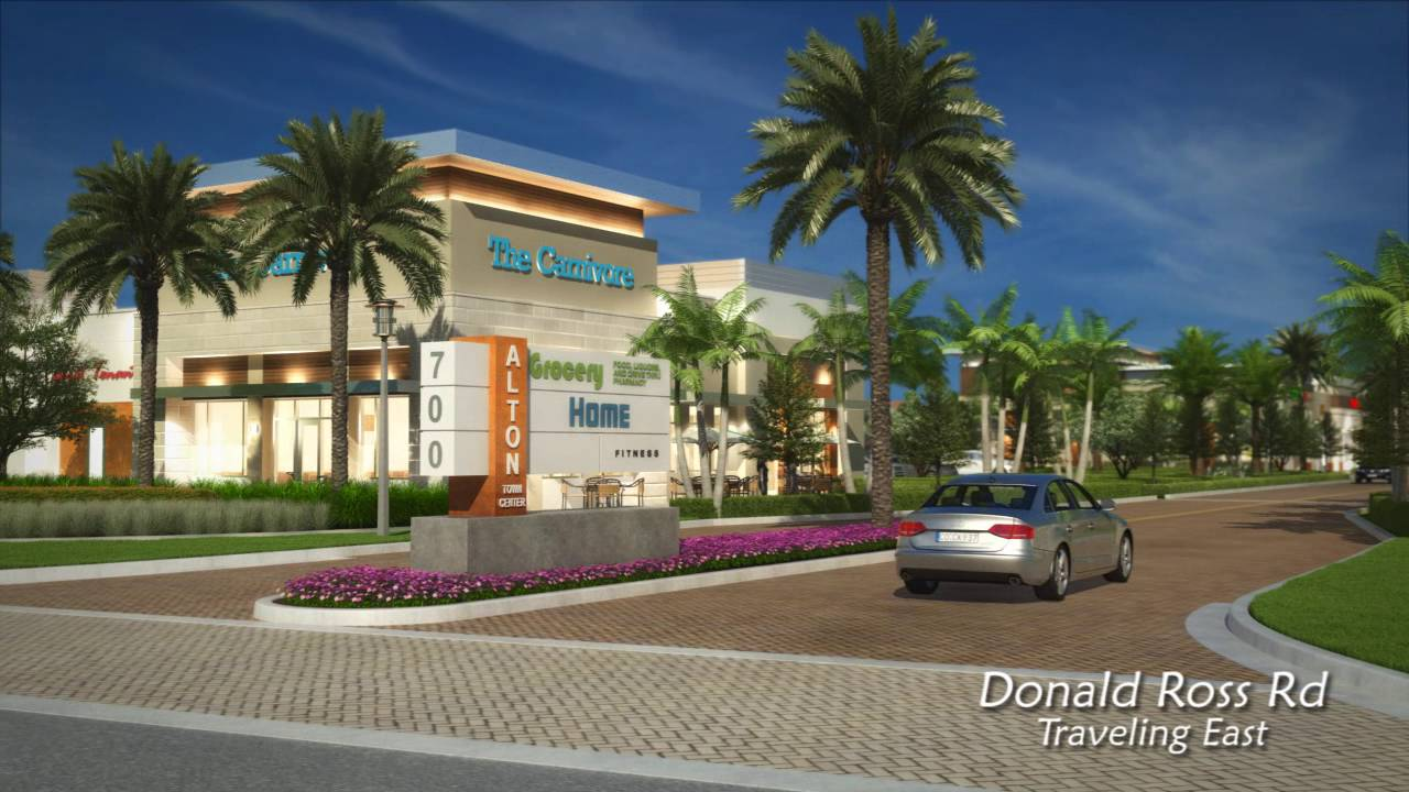 Alton town center preview youtube - Palm beach gardens community center ...